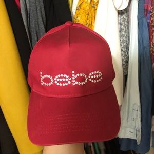 BEBE logo cap